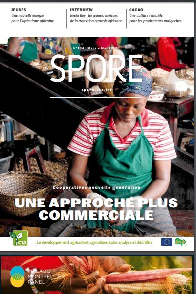 Revue SPORE : les jeunes entrepreneurs en agriculture