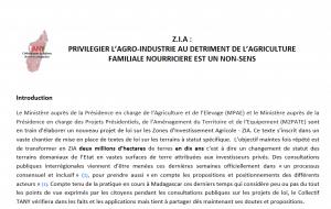 Zone d'investissement agricole à Madagascar: comuniqué du collectif Tany
