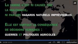Vidéo : Pourquoi on meurt encore de faim en Afrique