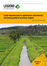 Publication : Legal Empowerment in Agribusiness Investments