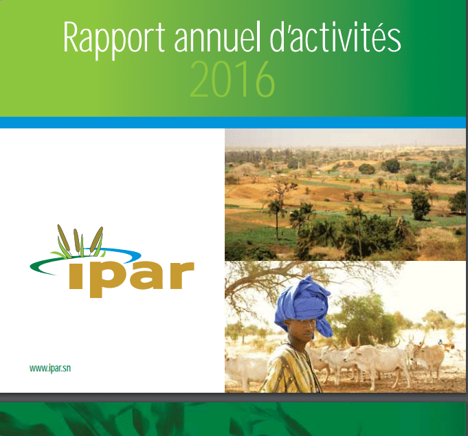 Rapport annuel d'activités 2016 de l'IPAR