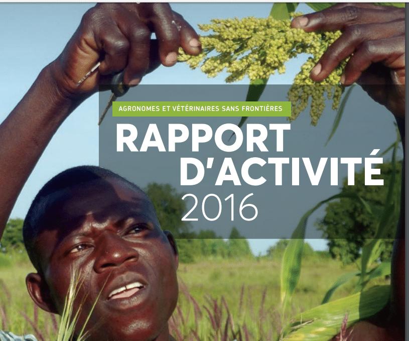 Rapport d'activités 2016 d'Agronomes et Vétérinaires Sans Frontières (AVSF)
