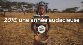 Rapport d'activités 2016 de l'ONG SOS Faim Belgique