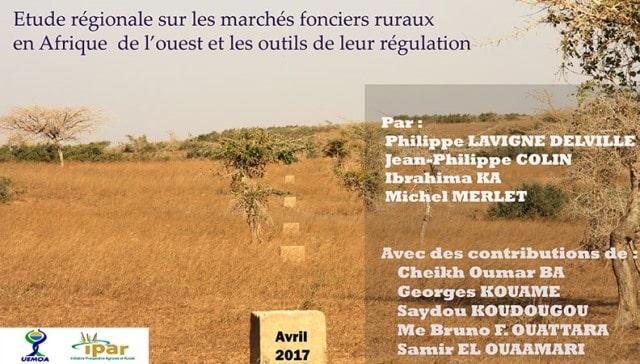 Les marchés fonciers ruraux en Afrique de l'Ouest : l'IPAR fait l'état des lieux et propose des outils de régulation