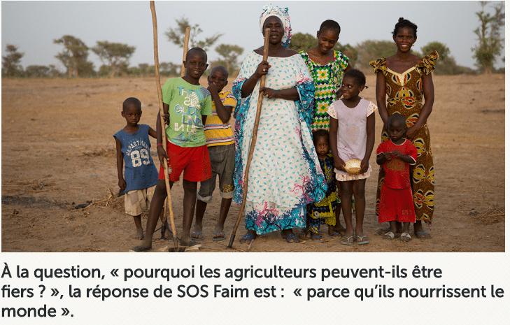 SOS Faim Belgique encourage l'agriculture familiale à travers des portraits d'agriculteurs africains fiers de leur métier