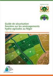 Niger : Guide de sécurisation foncière sur les aménagements hydro-agricoles
