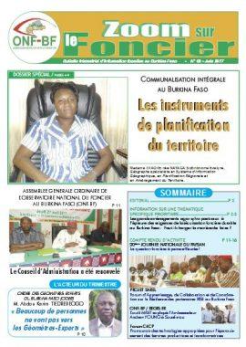 """Observatoire national du foncier au Burkina Faso: """"Zoom sur le Foncier"""""""