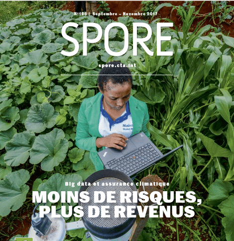 Revue Spore n°186 : Big data et assurance climatique