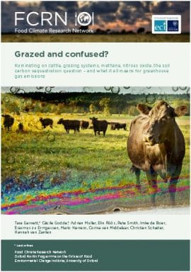 FCRN Report : Grazed and confused?