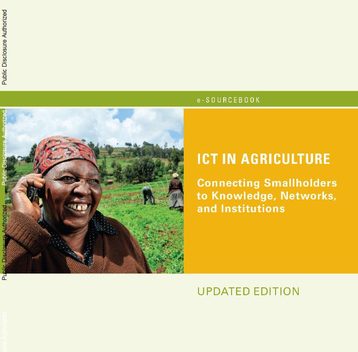 Rapport de la Banque mondiale sur les TIC dans l'agriculture