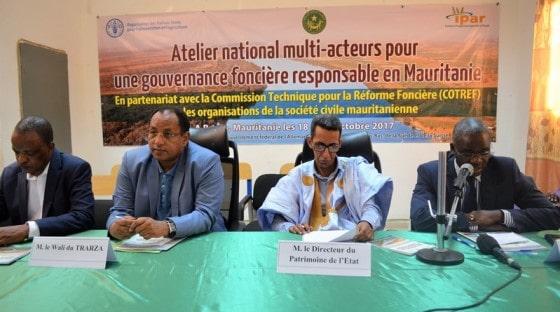 La Mauritanie rend public le cadre institutionnel de sa réforme foncière