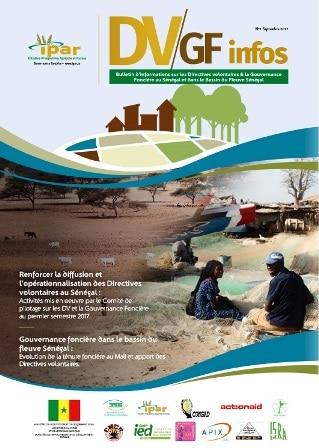 IPAR : Bulletin d'informations sur les Directives volontaires et la Gouvernance Foncière au Sénégal et dans les pays du Bassin du fleuve Sénégal