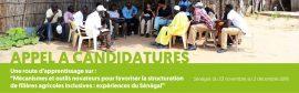 """Route d'apprentissage: """"Mécanismes et outils novateurs pour favoriser la structuration de filières agricoles inclusives : expériences du Sénégal"""""""