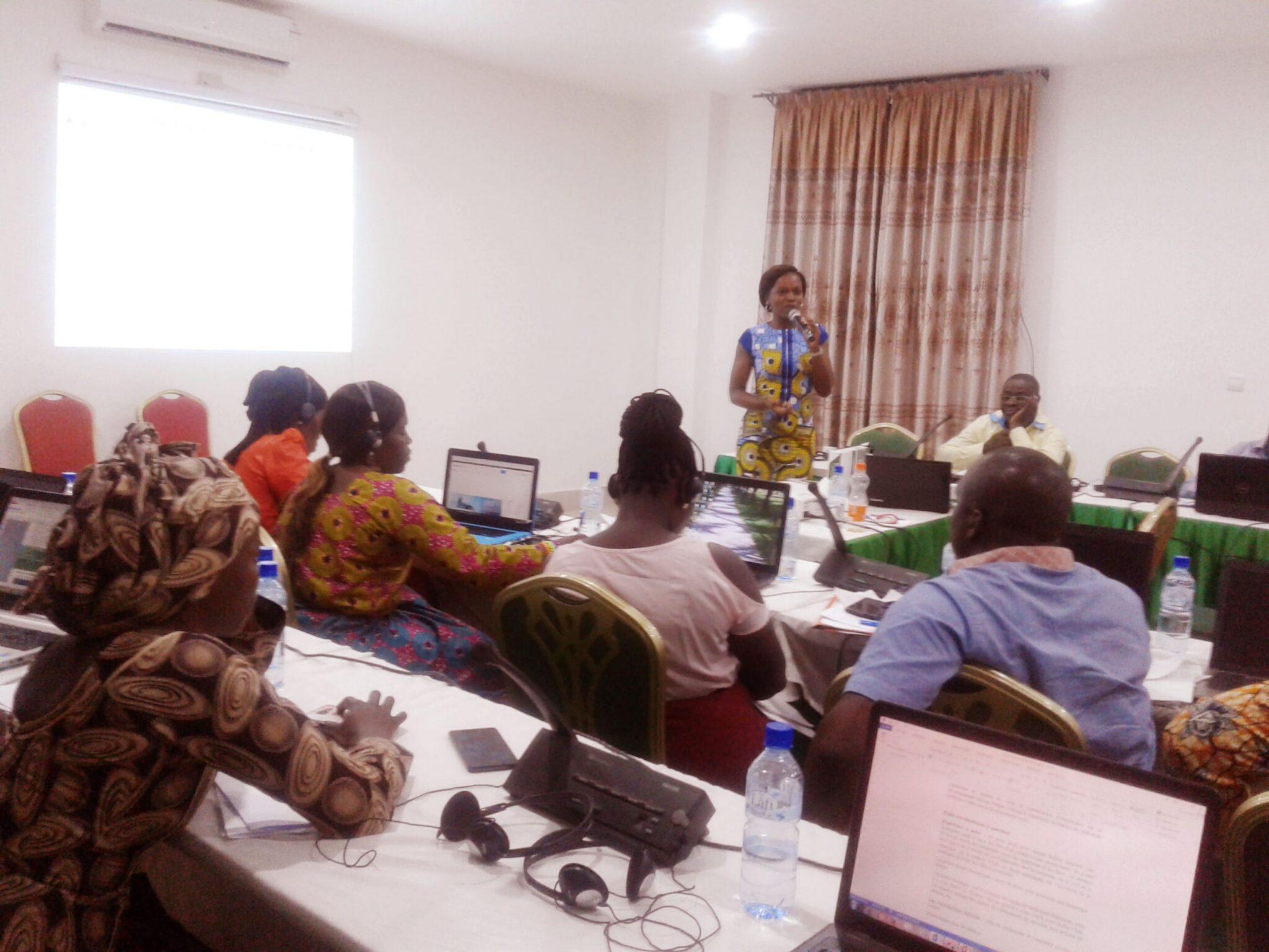 Le ROPPA était en concertation avec ses plateformes nationales membres pour l'élaboration de sa stratégie de communication