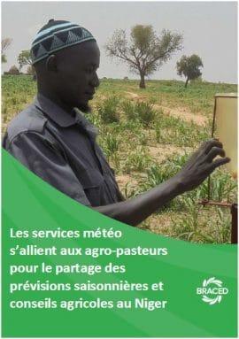 Les services météo s'allient aux agro-pasteurs pour le partage des prévisions saisonnières et conseils agricoles au Niger