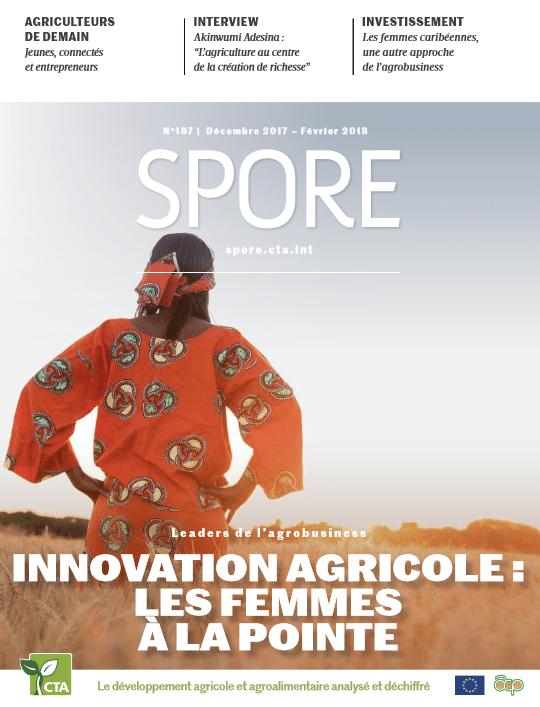 Revue Spore : Les femmes à la pointe de l'innovation agricole