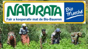 Pour soutenir l'agriculture familiale durable au Sud-Kivu, SOS Faim Luxembourg vous invite à faire don de vos timbres d'achat dans les boutiques Naturata Bio