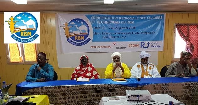 Réseau Billital Maroobé (RBM) était en concertation régionale avec ses leaders et techniciens