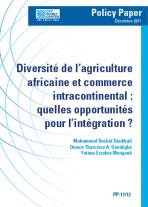 Diversité de l'agriculture africaine et commerce intracontinental : quelles opportunités pour l'intégration