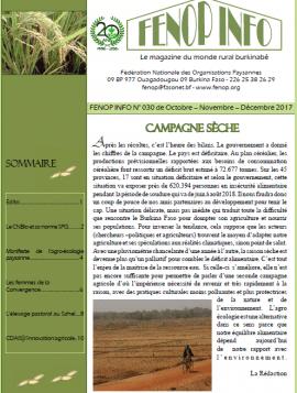 Bulletin FENOP Info N°30