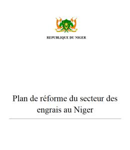 Niger : Plan de réforme du secteur des engrais au Niger