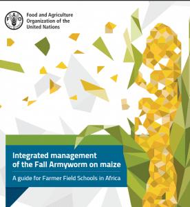 Publication de la FAO: Guide de lutte intégrée contre la chenille légionnaire d'automne