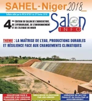 Bulletins spéciaux du RECA sur le salon de l'agriculture du Niger