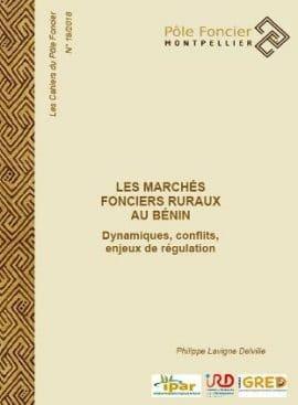 Les marchés fonciers ruraux au Bénin : Dynamiques