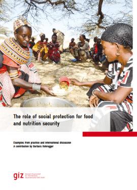 Rapport GIZ: le rôle de la protection sociale dans la sécurité alimentaire et nutritionnelle