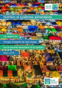 Rapport du HLPE: Nutrition et systèmes alimentaires