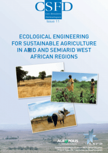 Ecological engineering for sustainable agriculture in arid and semiarid West african regions