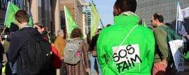 Journée internationale des luttes paysannes : SOS Faim Belgique marche contre les accords de libre-échange