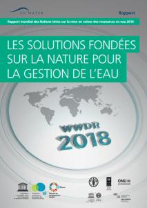 Rapport mondial sur l'eau 2018