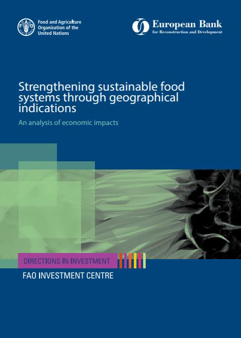 Rapport d'étude FAO :  Renforcer les systèmes alimentaires durables grâce à des indications géographiques