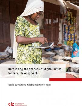 Étude de la GIZ sur la numérisation pour le développement rural