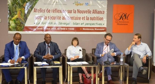 Nouvelle alliance pour la sécurité alimentaire et nutritionnelle (NASAN) : l'IPAR organise un atelier de réflexion à Dakar