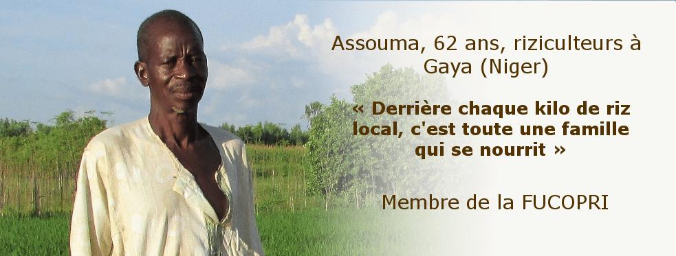 Insécurité alimentaire au Niger : SOS Faim plaide pour le soutien des riziculteurs nigériens