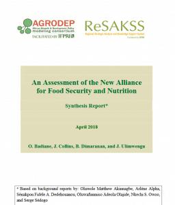 Publication : Rapport intermédiaire sur la mise en oeuvre de la NASAN
