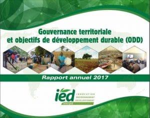 Le rapport annuel 2017 d'IED Afrique est disponible !