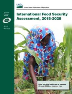 Rapport de l'USDA sur l'évaluation de la sécurité alimentaire dans le monde de 2018 à 2028