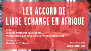 Vidéo : L'accord de partenariat économique (APE) UE - Afrique de l'Ouest