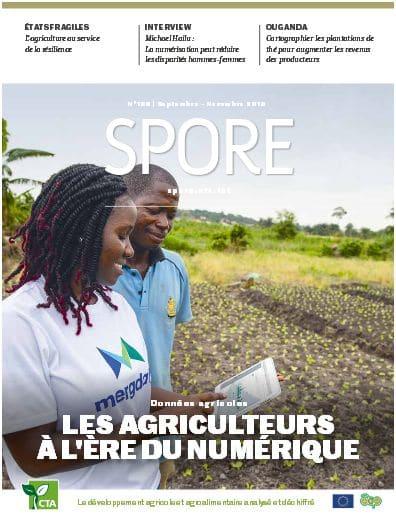 Revue Spore n°190 : Les agriculteurs à l'ère du numérique