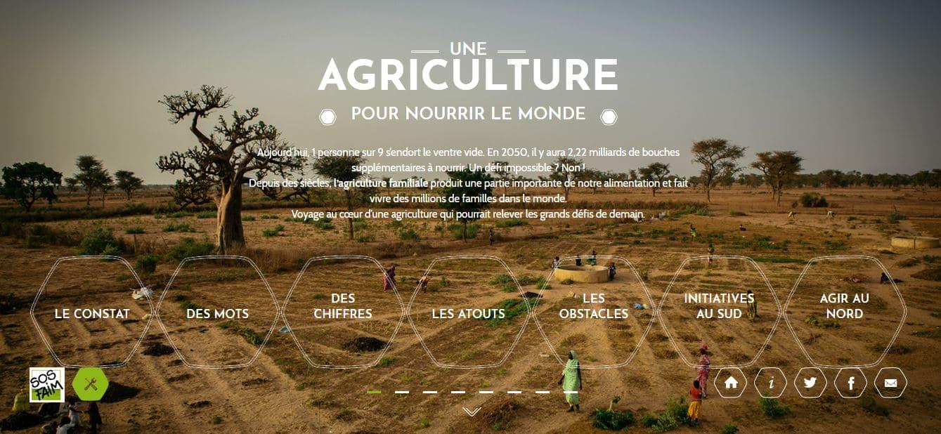 SOS Faim Belgique met à jour sa plateforme dédiée à l'agriculture familiale