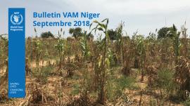 Bulletin VAM (analyse de la sécurité alimentaire) au Niger - septembre 2018