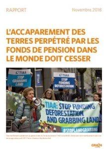 Rapport : L'accaparement des terres perpétré par les fonds de pension dans le monde doit cesser