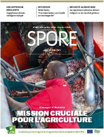 Revue Spore n°191 : Changer d'échelle, mission cruciale pour l'agriculture