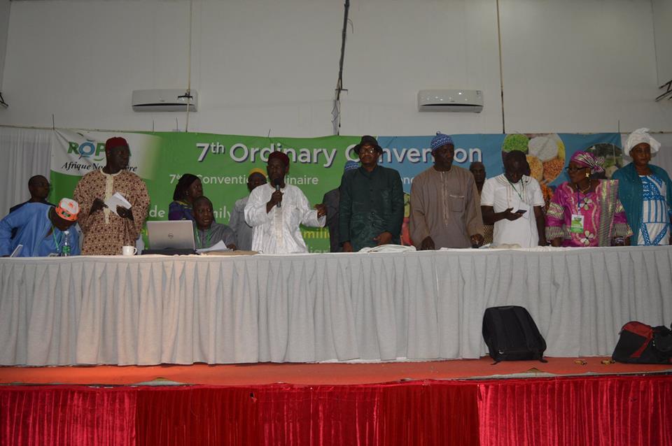 Convention ROPPA 2018 : Ibrahima Coulibaly est le nouveau président