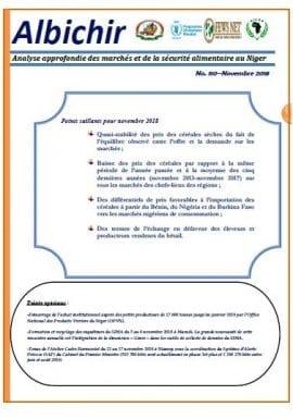 Bulletin Albichir n°110 - Novembre 2018