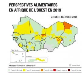 Maps & Facts n°74 : Perspectives alimentaires en Afrique de l'Ouest en 2019