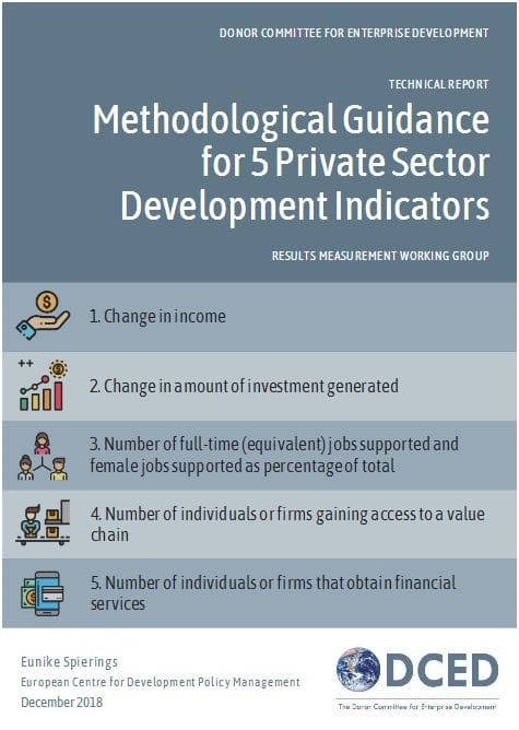 Technical Report : Methodological Guidance for 5 Private Sector Development Indicators